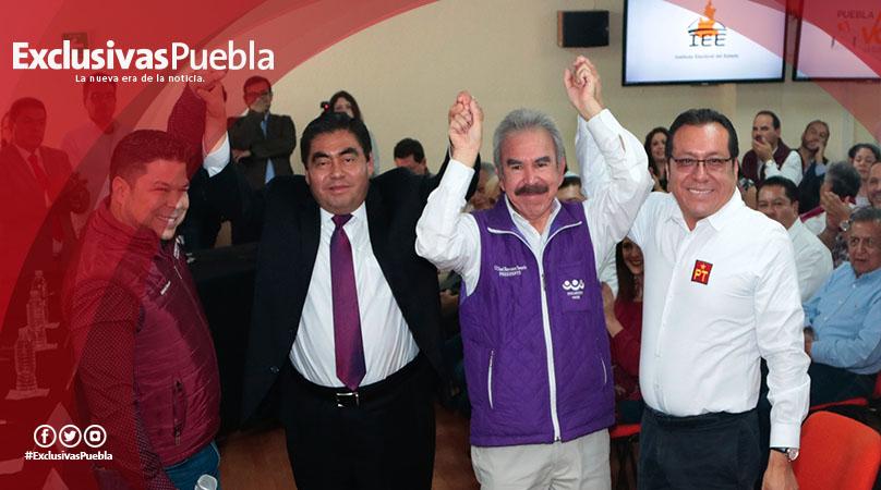 Reta Luis Miguel Barbosa a debatir a sus adversarios
