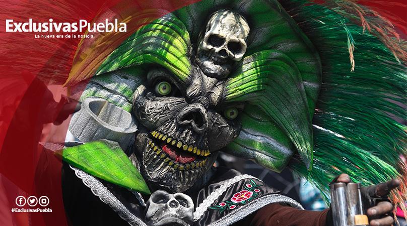 Colorido y majestuoso, el Carnaval de San Baltazar Campeche